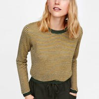 MULTICOLORED STRIPED JERSEYDETAILS