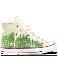 Converse - Chuck Taylor All Star Boston - Hi - White / Green