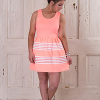 My Favorite Party Dress - Neon Coral