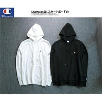 Champion Embroidered Hoodie Sweater S--XXL-1