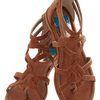 BC Footwear Boho Campfire State of Mind Sandal in Whiskey