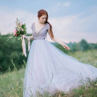 Tulle wedding gown // Lavanda