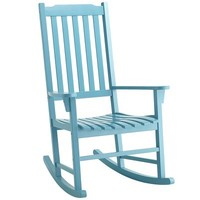 Rock Point Rocker - Peacock Blue