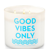 Good Vibes Only - Fiji White Sands 3-Wick Candle | Bath And Body Works