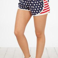 Always American Shorts- Navy Blue