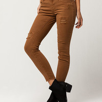 SKY AND SPARROW Fray Womens Ankle Jeans | Ankle