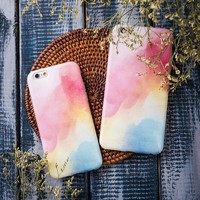 On Sale Hot Deal Iphone 6/6s Stylish Cute Apple Iphone Matte Phone Case [12149155091]