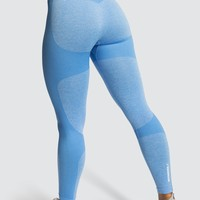 Impact Seamless Leggings - Sky Blue