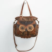 Owl Tote Bag Multi One Size For Women 24230595701