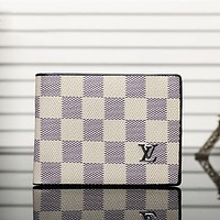 Louis Vuitton LV Men Leather Purse Wallet Bag