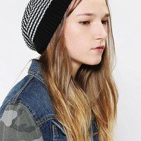 Urban Outfitters - Striped Ribbed Beanie