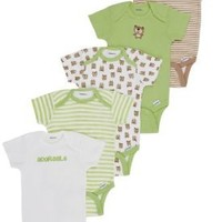 Gerber Unisex-Baby Bear 5 Pack Variety Onesuit:Amazon:Clothing