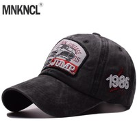 Trendy Winter Jacket MNKNCL High Quality Baseball Caps Dad Casquette Women Snapback Caps Bone Hats For Men Fashion Vintage Gorras Letter Cotton Caps AT_92_12