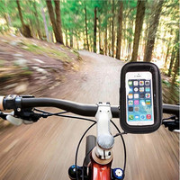 Bike Mounted Waterproof Case for Apple and Samsung Smartphones