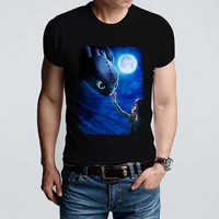 How to train your dragon 2 hiccup and toothless_Dragons Tshirt_Awesome Tshirt_Dreamwork_From SAWANK