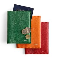 Leather Passport Case | Mark and Graham