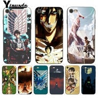 Cool Attack on Titan Yinuoda For iphone 7 6 X Case  Mikasa Exquisite Phone Case for iPhone 7 X 6 6S 8 Plus 5 5S SE 5C Case AT_90_11