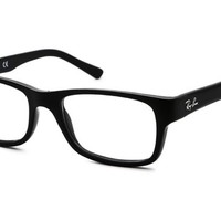 Ray-Ban RX5268 5119 Youngster Eyeglasses, Black Frame, Clear 50mm Lenses