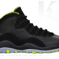 Air Jordan Men's Retro 10 X Venom Green