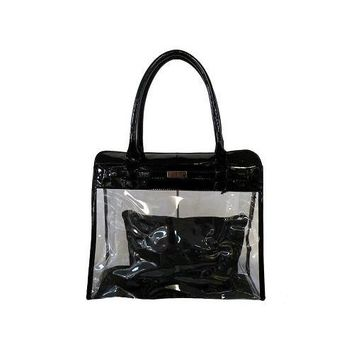 Clear Classic Purse With A Pouch