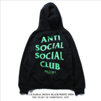 American original casual tide brand thin cashmere hooded sweater hoodie street teen tide ASSC men and women[409184043044]