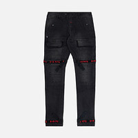 Strapped Up Slim Utility Jeans Bred