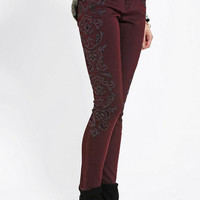 Urban Outfitters - BDG Twig Mid-Rise Jean - Embroidered