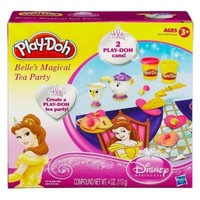 Play Doh Belle's Magical Tea Party Playset