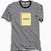 Paramore Striped Color Block Tee | Urban Outfitters