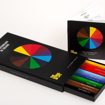 The Psychology of Colour Pencil Set - Stationery & Cards - Shop