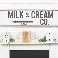 Milk and Cream Company Co Produce Farm Vinyl Wall Decal Home Decor