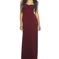 Twisted Tube Maxi Dress | Wet Seal