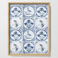On the Tiles Serving Tray by anipani