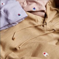 Champion Classic C embroidered hooded hoodie Sweater Tagre™