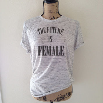 The Future is Female Shirt for Women - Feminism Shirts - Feminist Tees - Women's Rights - Women's Movement Shirts - Feminist Definition