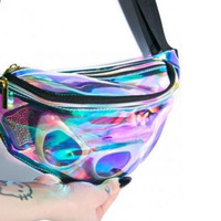 Hologram fanny and back pack