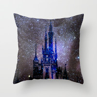 Fantasy Disney Throw Pillow by Guido Montañés