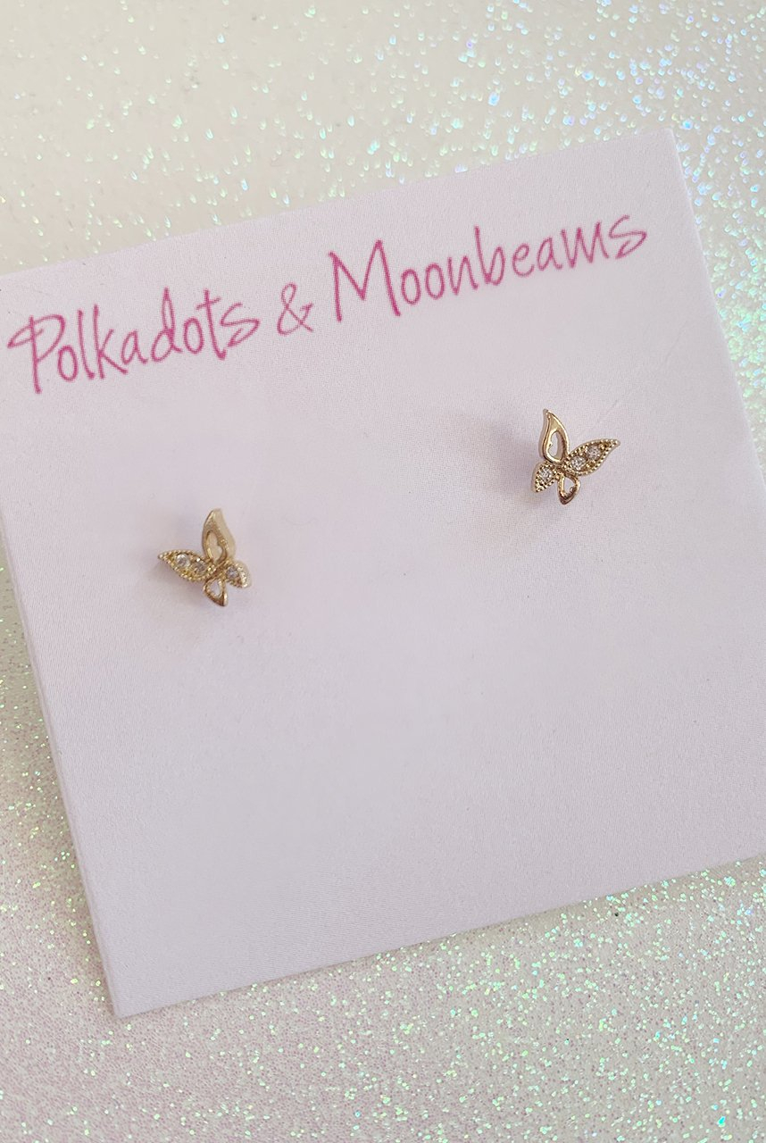 Image of PM Butterfly Studs