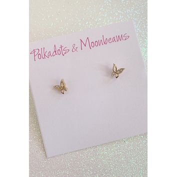 PM Butterfly Studs