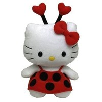 TY Beanie Baby - HELLO KITTY ( LADYBUG ) (UK Exclusive)