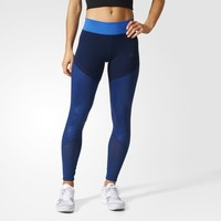 adidas Ultimate Long Tights - Blue | adidas US