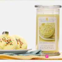 Iced Lemon Cookies Jewelry Candle