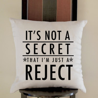 5 Second of summer Reject Pillow, Pillow Case, Pillow Cover, 16 x 16 Inch One Side, 16 x 16 Inch Two Side, 18 x 18 Inch One Side, 18 x 18 Inch Two Side, 20 x 20 Inch One Side, 20 x 20 Inch Two Side
