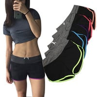 Womens Fitness Gym Sport Shorts - Cotton Shorts Casual (S - L)