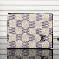 Perfect LV Men Leather Purse Wallet