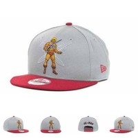 DCCKUN7 He-man Action Arch Snaps 9fifty Cap Cap Snapback Hat - Ready Stock