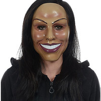 Smiling Woman Mask - Spirithalloween.com