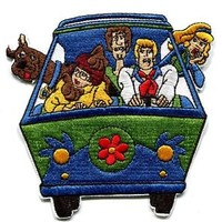 """NEW Scooby Doo Mystery Machine IRON ON PATCH BUY 2 GET 1 FREE 4"""""""