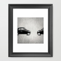 ... and came back Framed Art Print by Steffi Louis Finds&art