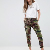Replay Camo Cargo Pant at asos.com